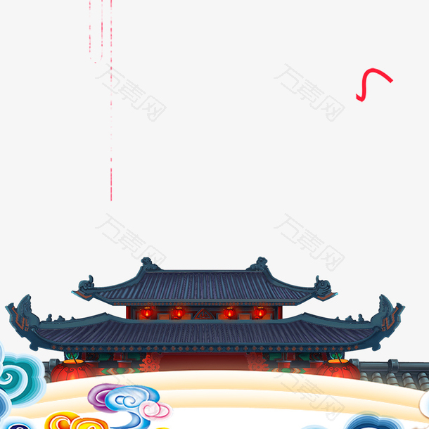 节日海报装饰边框