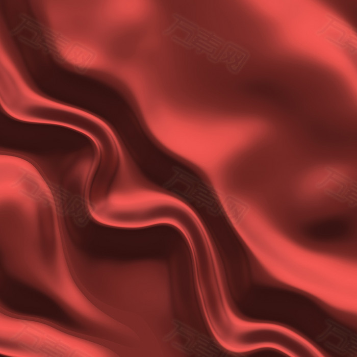 红色丝绸纹理背景