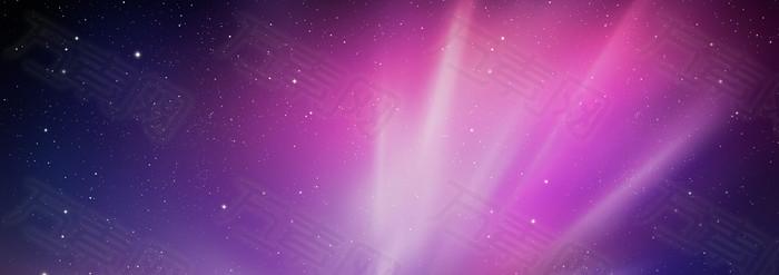星空 紫色背景