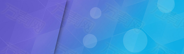 电商科技蓝色背景banner