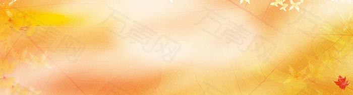 黄色 黄昏 背景 banner