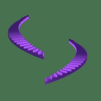紫色的阶梯