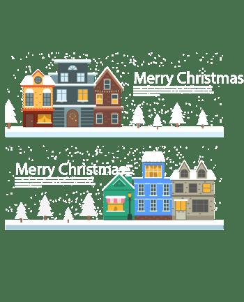 圣诞节气氛横幅