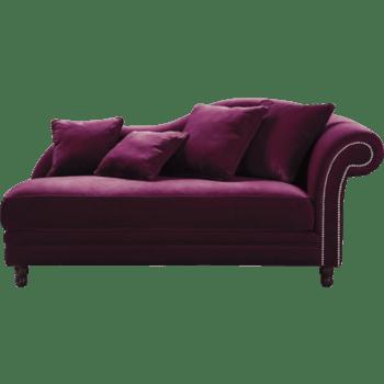 暗紫色太妃椅