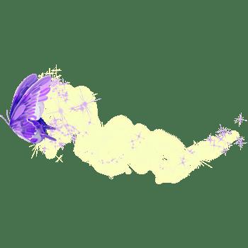 紫色蝴蝶星光