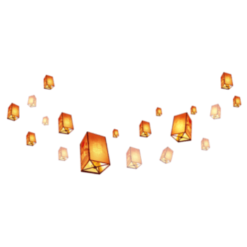 中秋节灯笼装饰素材