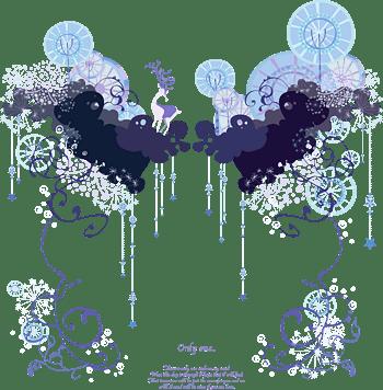 淡紫色浪漫花纹卡片背景素材