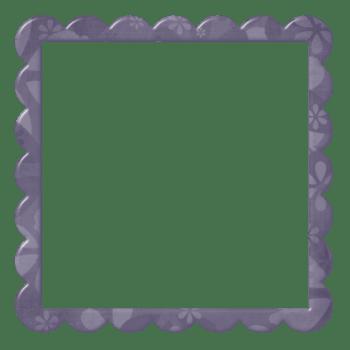 暗紫色边框