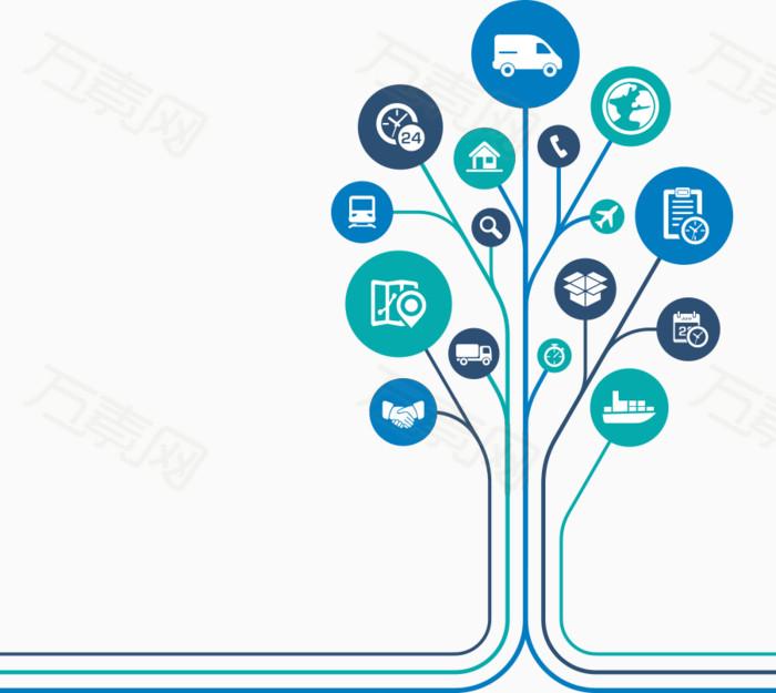 树创意设计电路