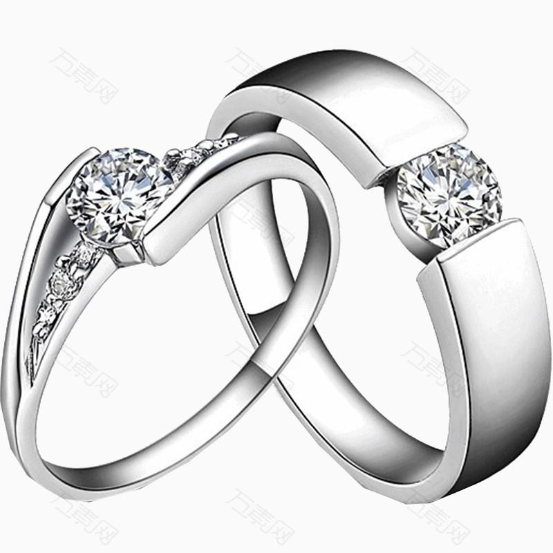 情侣戒指宝石