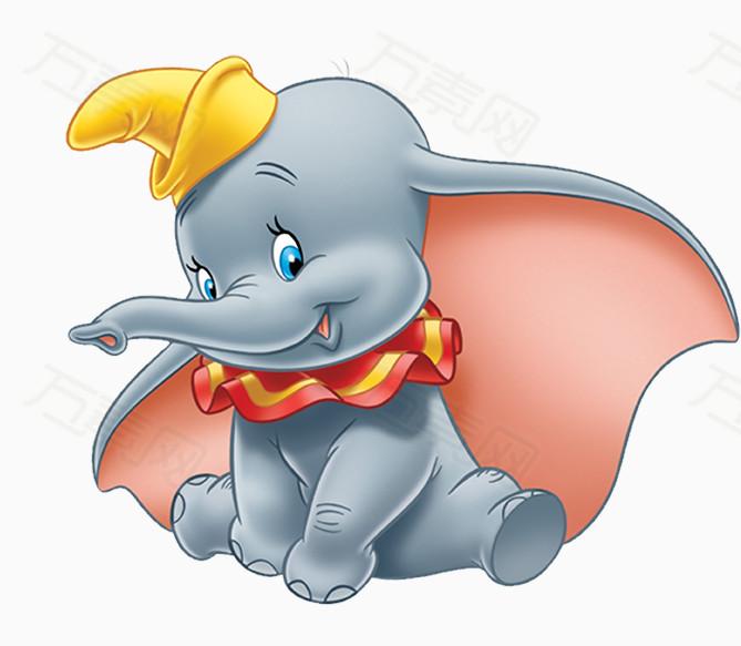 可爱卡通小象图片免费下载_卡通手绘_万素网