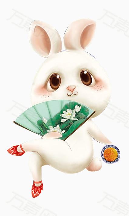 可爱的兔子 白色兔子