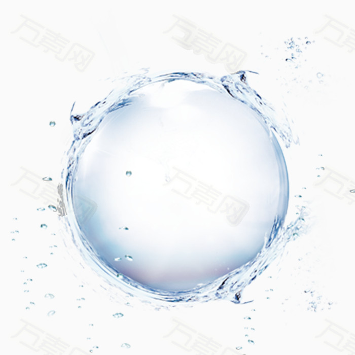 圆形创意设计图案水