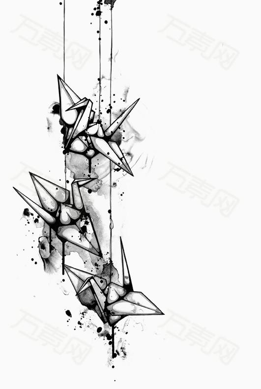 千纸鹤图片免费下载_卡通手绘_万素网