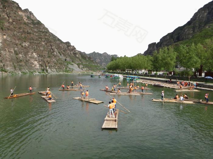 著名景点 旅游景区 北京房山十渡 著名十渡风景