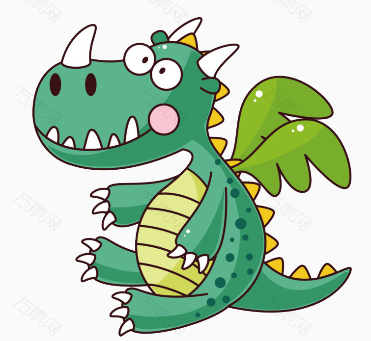 卡通可爱小恐龙图片