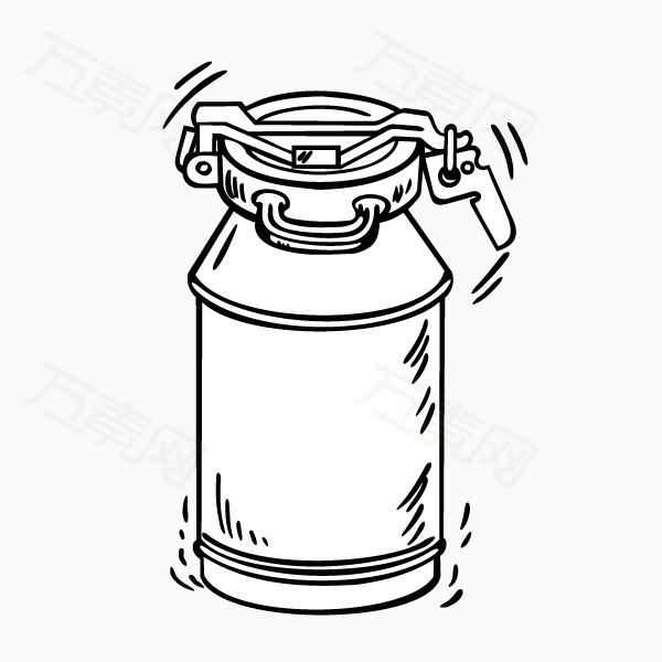 罐子图片免费下载_装饰元素_万素网图片