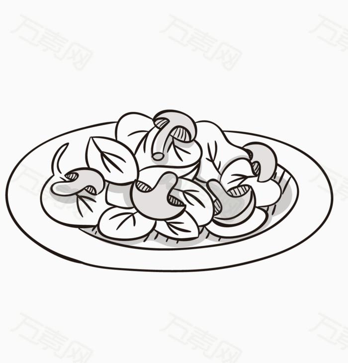 青菜简笔画可爱