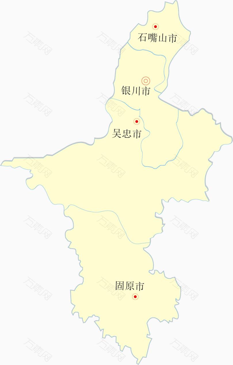 银川地图全图高清版3d