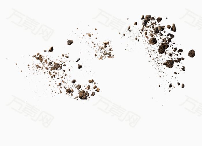 土块 泥土素材 效果元素 装饰元素 png