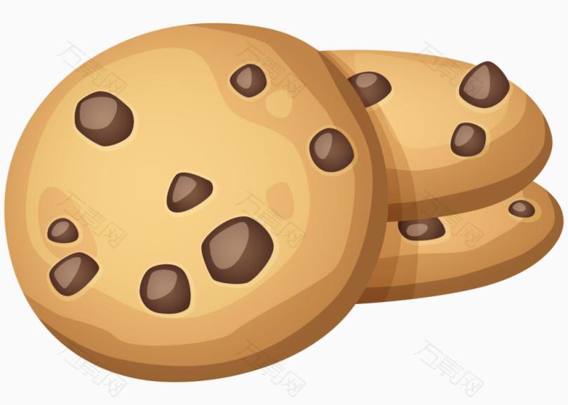 卡通手绘巧克力饼干图片
