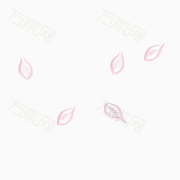 漂亮花瓣png免抠图素材图片免费下载_漂浮元素_万素网