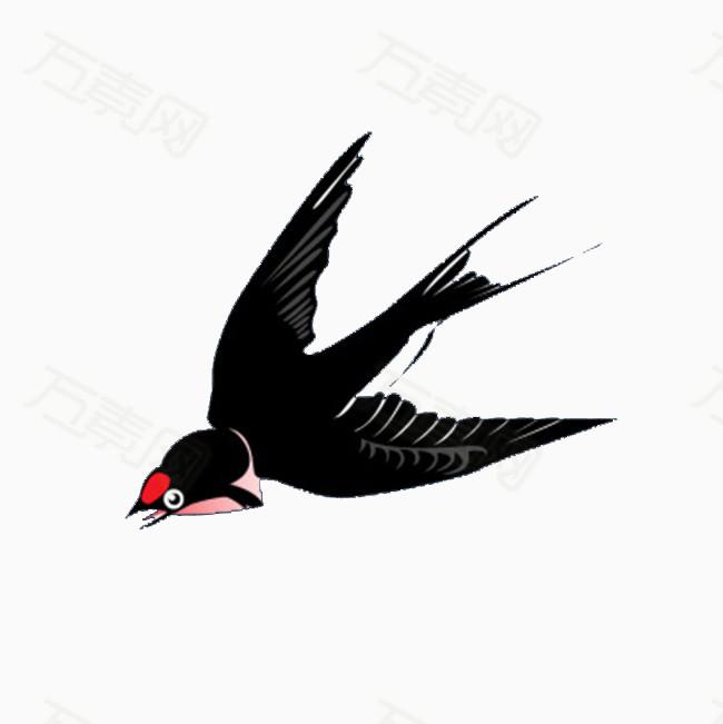 卡通手绘小燕子