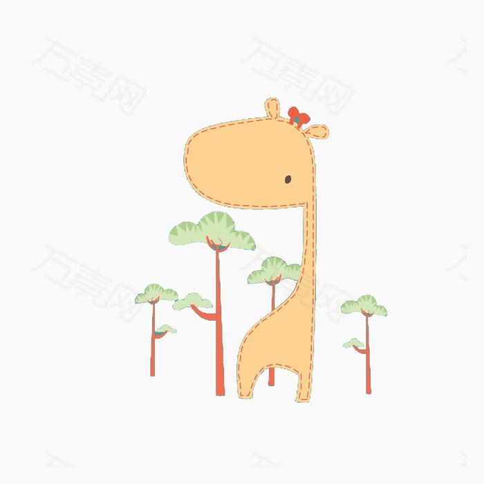 卡通动物漫画 动物插画 卡通动物 生物世界 陆地动物