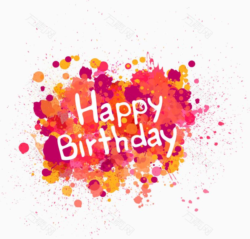 生日快乐happy birthday