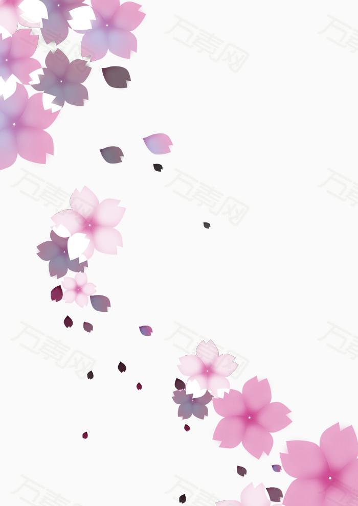 万素网 免抠元素 樱花  万素网提供樱花png设计素材,背景素材下载.