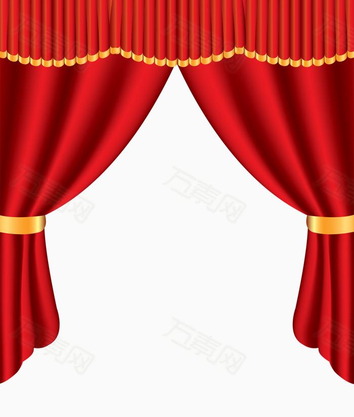 素材分类 红色舞台幕布  10961 万素网提供红色舞台幕布png设计素材