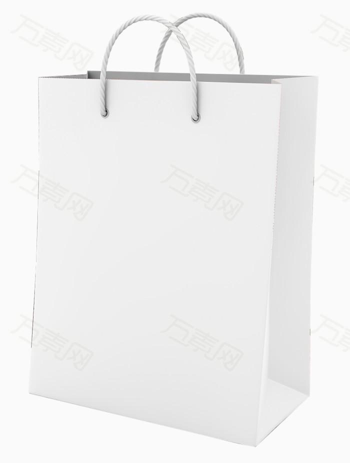 白色手提袋素材图片图片免费下载_效果元素_万素网