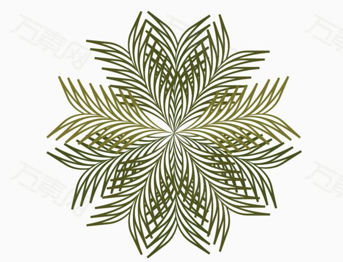 可爱手绘树叶团