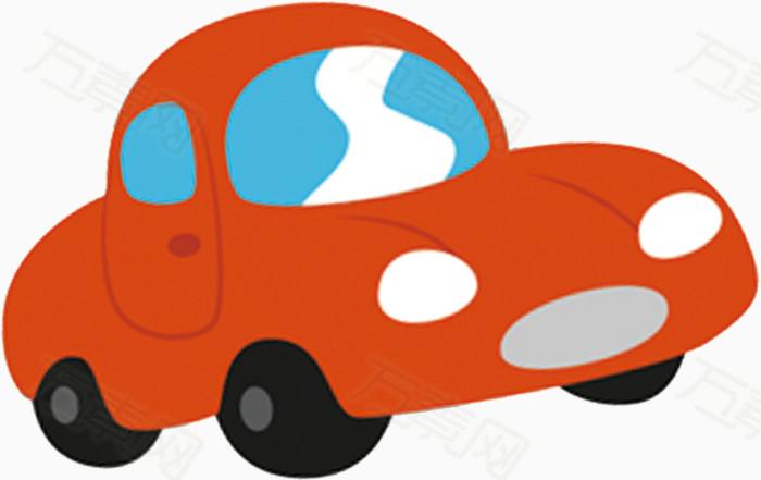 小��(���^kN�_红色小汽车行驶图案
