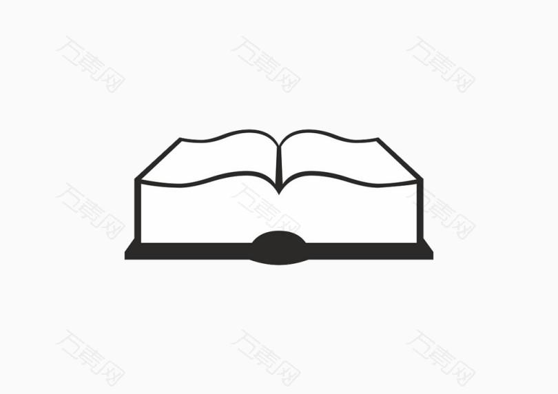 立体书本简笔画步骤