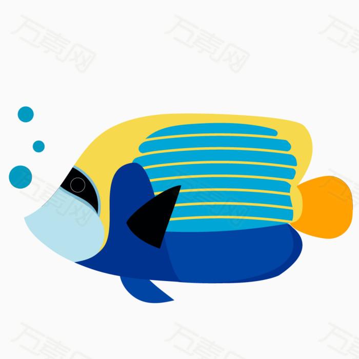卡通手绘小鱼