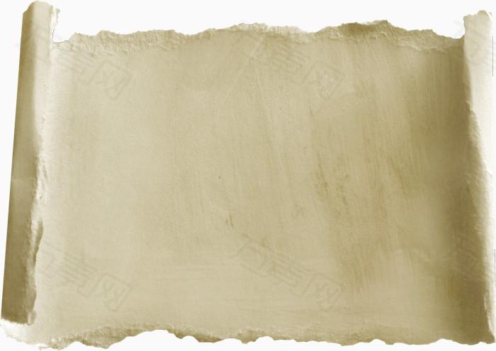 画轴图片画轴边框 手撕画纸