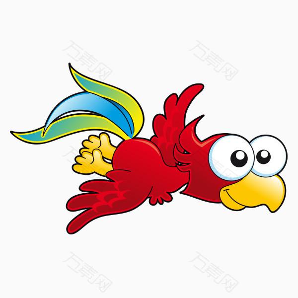 手绘卡通鸟  图片素材详细参数: 编号115395 分类卡通手绘 颜色模式rg