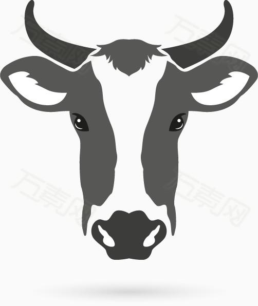 牛头简笔画步骤