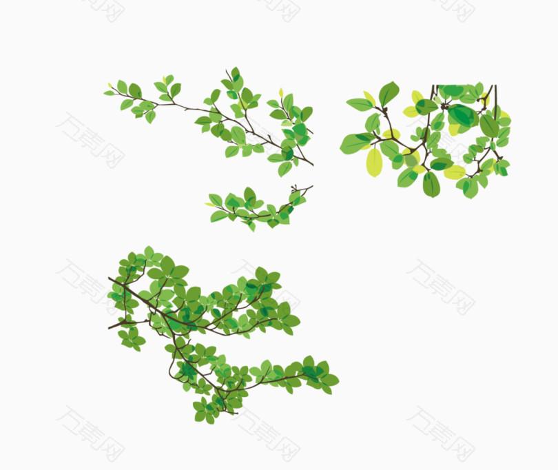 春天素材树枝花草求苏州园林设计图片