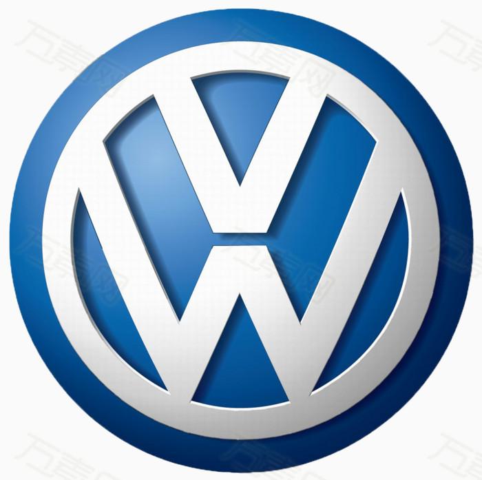 汽车标志,logo,蓝色,图标元素,大众汽车,一汽大众