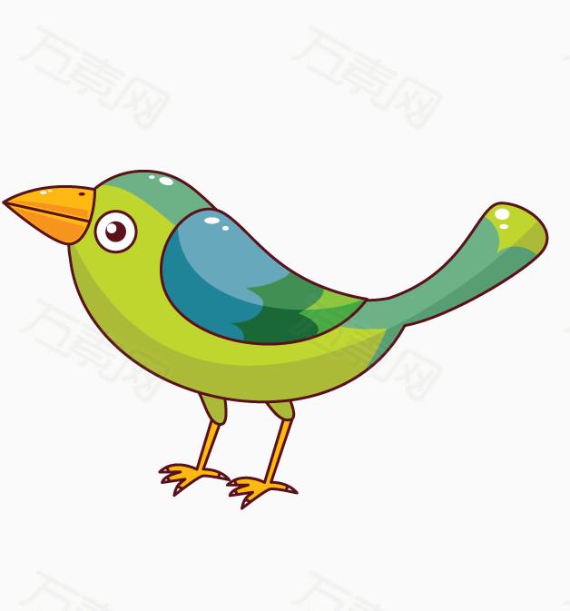 青色小鸟 小鸟png 可爱的小鸟 小鸟矢量图 卡通
