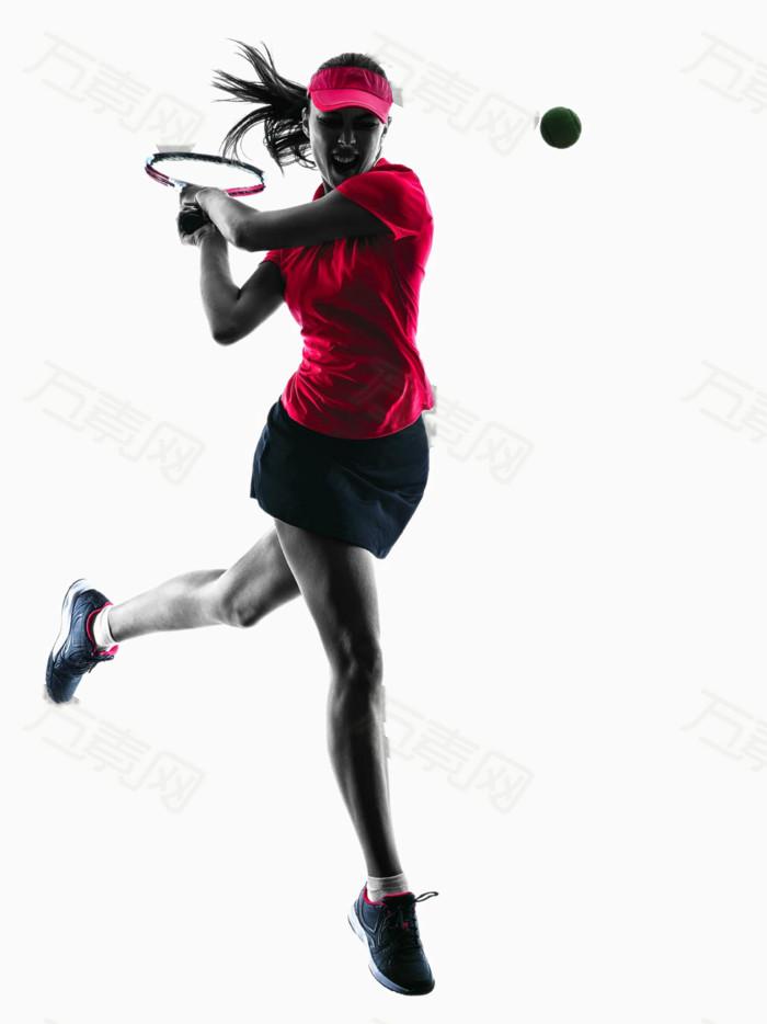 网球运动员逆光xx