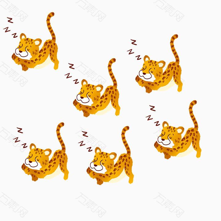 老虎可爱图片
