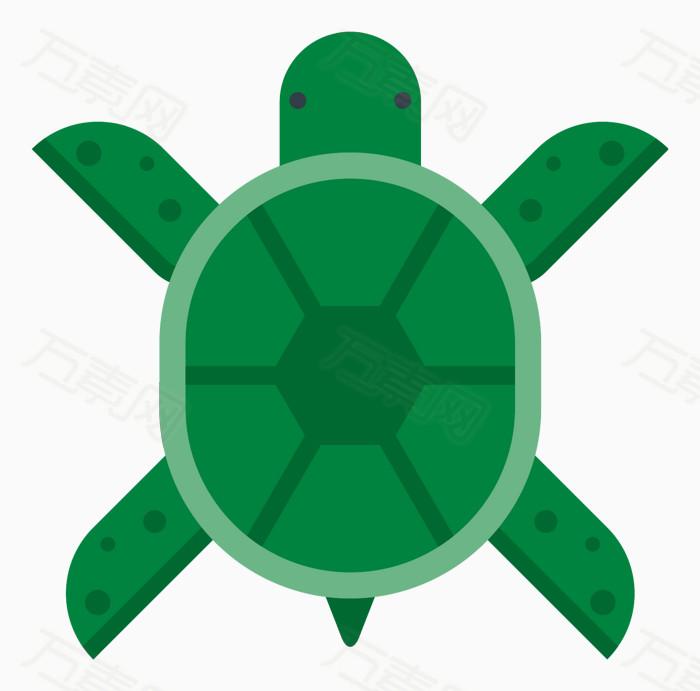 卡通乌龟 手绘乌龟 简约乌龟 乌龟图标