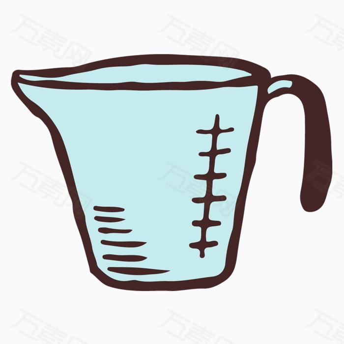 手绘量杯图片免费下载_卡通手绘_万素网