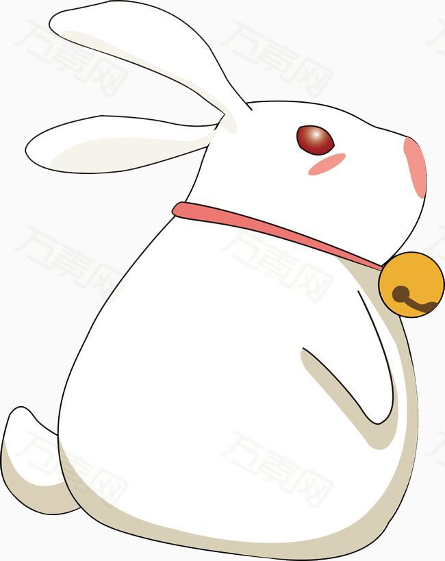 万素网 素材分类 卡通可爱大白兔  3684 万素网提供卡通可爱大白兔png图片