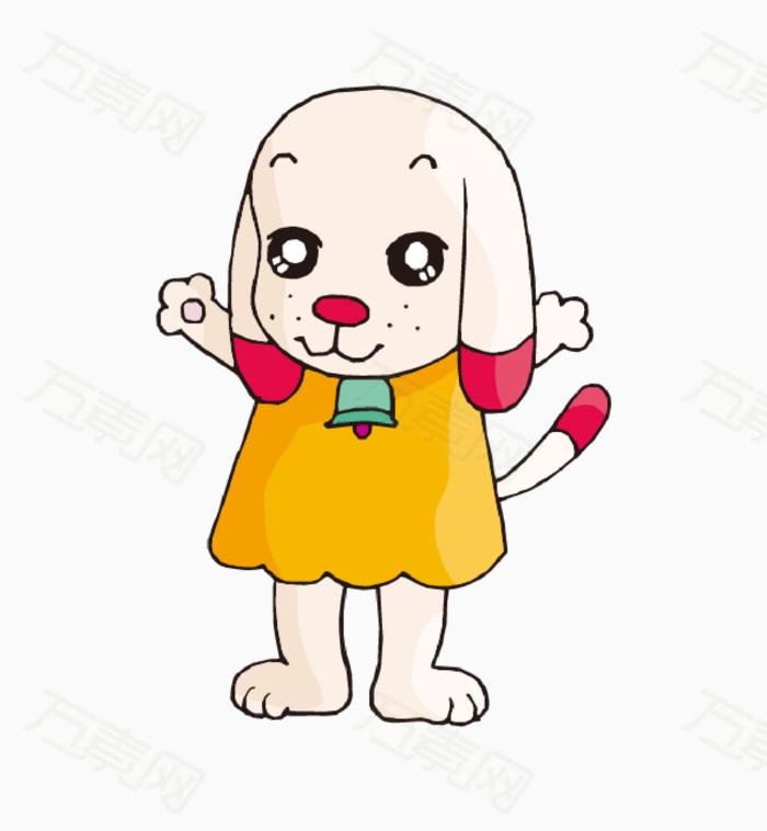 穿衣服的可爱小狗
