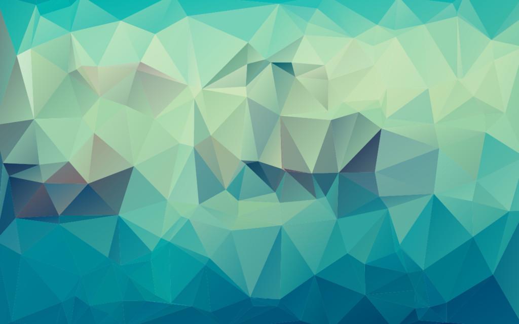 水蓝色三角形马赛克纹理