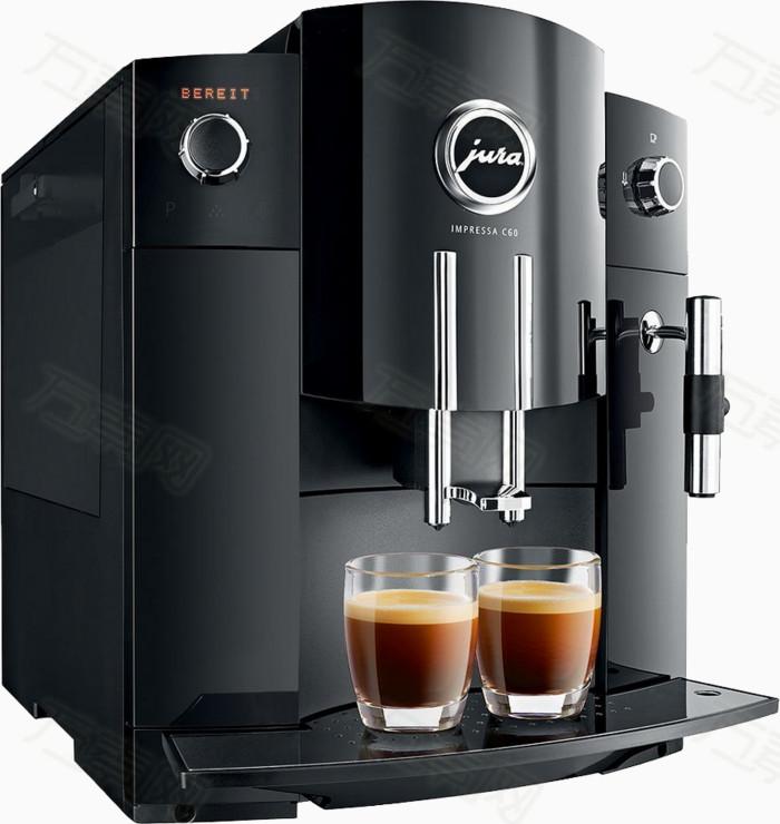 手绘 家用 机器 黑色 杯子                 万素网提供咖啡机png设计